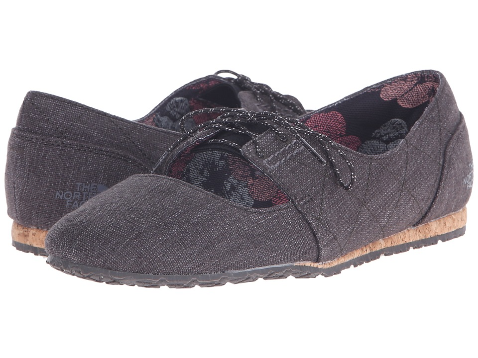 The North Face - Bridgeton Mary Jane Canvas (TNF Black/Dark Gull Grey) Women's Maryjane Shoes