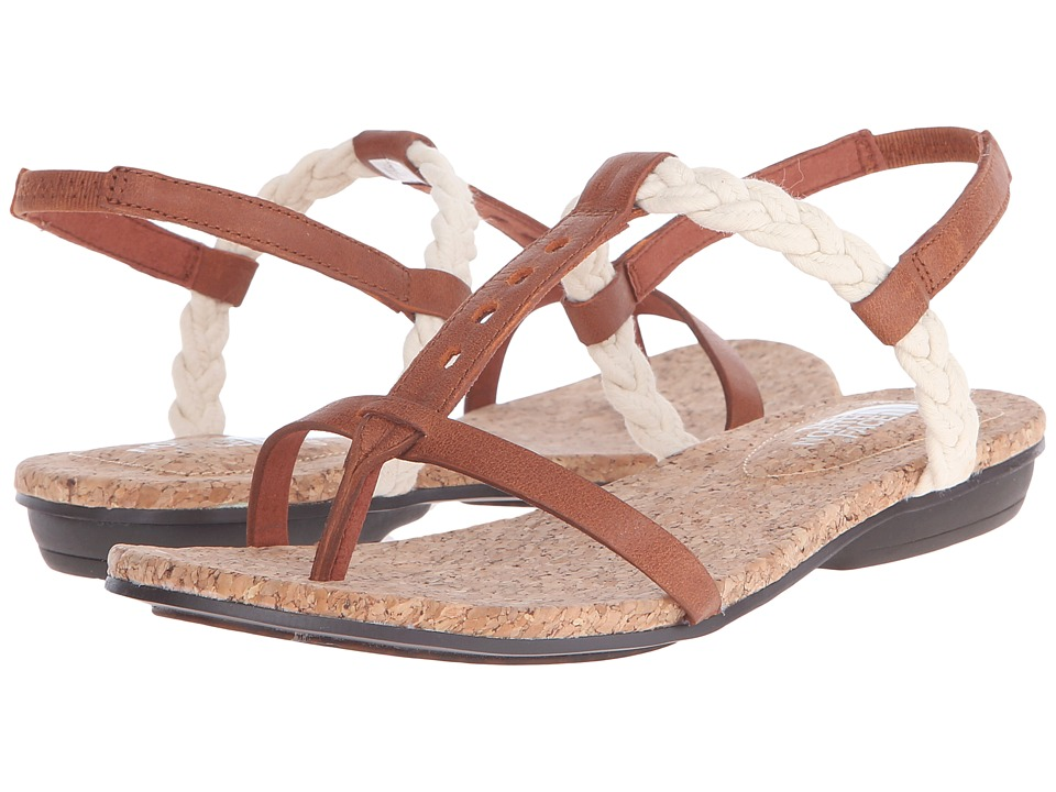 The North Face - Bridgeton Braid Slingback (Cognac Brown/Vintage White (Prior Season)) Women's Sandals plus size,  plus size fashion plus size appare