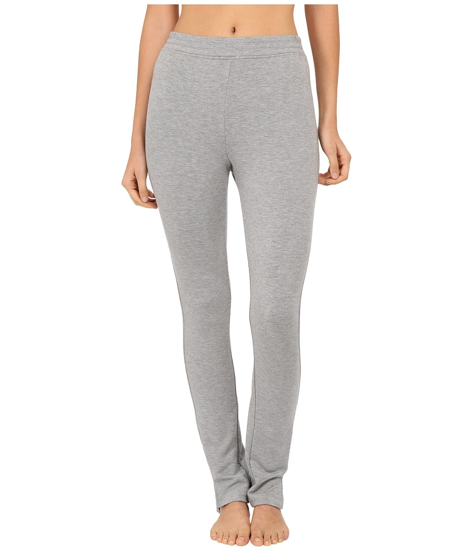 Midnight by Carole Hochman - French Terry Legging (Heather Grey) Women's Pajama