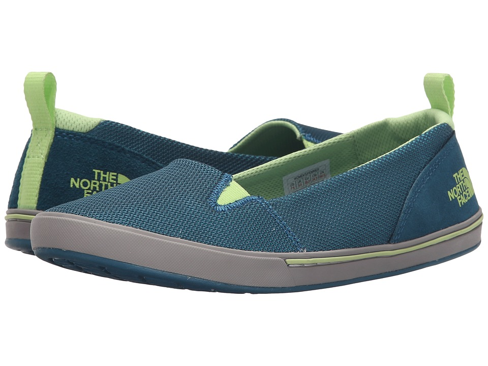 The North Face - Base Camp Lite Skimmer II (Bluebird/Budding Green) Women's Slip on Shoes