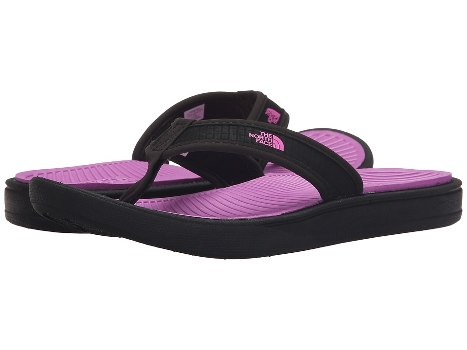 The North Face - Base Camp Lite Flip-Flop (TNF Black/Sweet Violet) Women's Sandals
