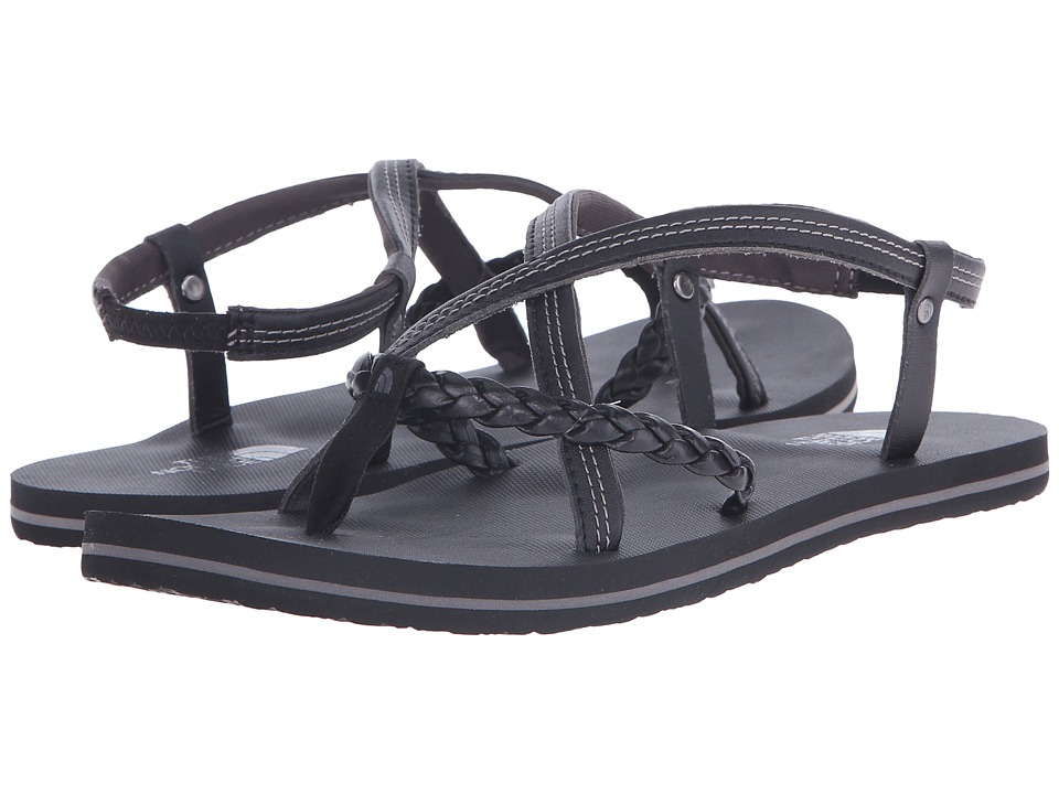 The North Face - Base Camp Plus Gladi (TNF Black/Dark Gull Grey (Prior Season)) Women's Sandals