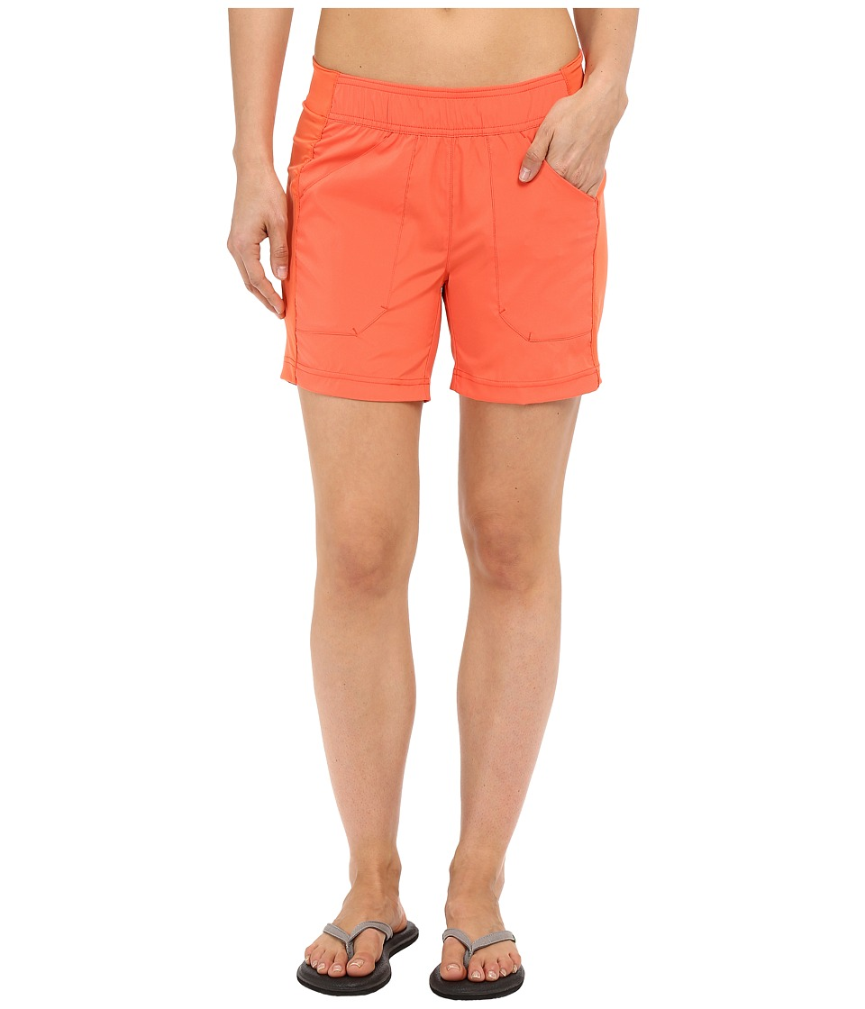 ExOfficio Sol Cooltm Shorts (Hot Coral) Women