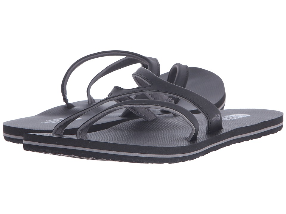 The North Face - Base Camp Plus Asym (TNF Black/Plum Kitten Grey (Prior Season)) Women's Sandals
