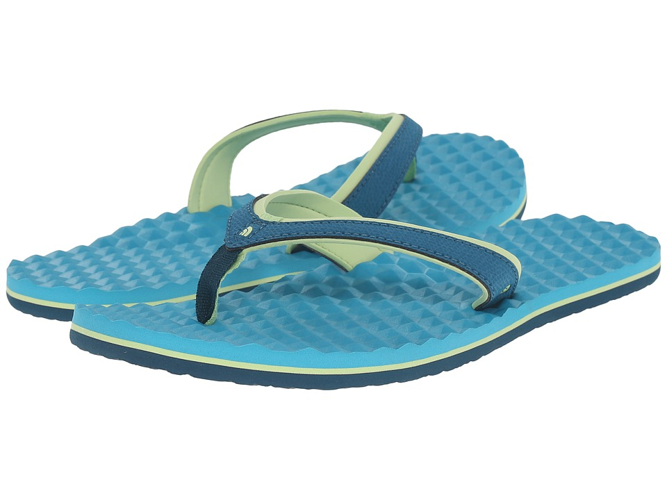 The North Face - Base Camp Plus Mini (Blue Coral/Bluebird) Women's Sandals