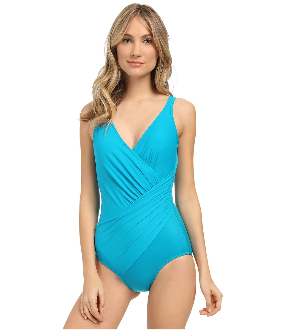 Miraclesuit - Must Haves Oceanus One-Piece (Lagoon) Women's Swimsuits One Piece