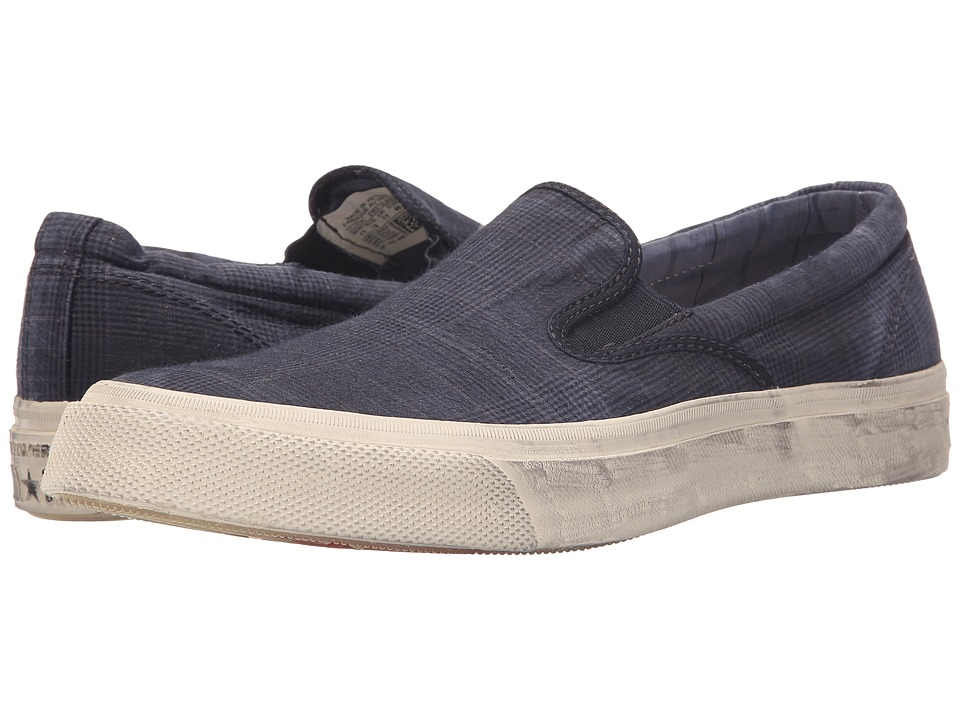 Converse by John Varvatos Deck Star Vintage Slip (Dark Navy/Turtledove/Black) Slip on Shoes