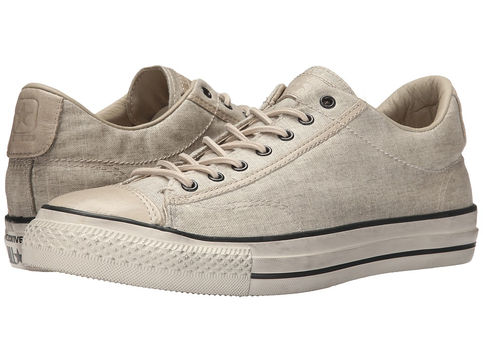 Converse by John Varvatos - Chuck Taylor All Star Vintage Slip - Wash Bonded Linen (Toast/Sand/Turtledove) Lace up casual Shoes