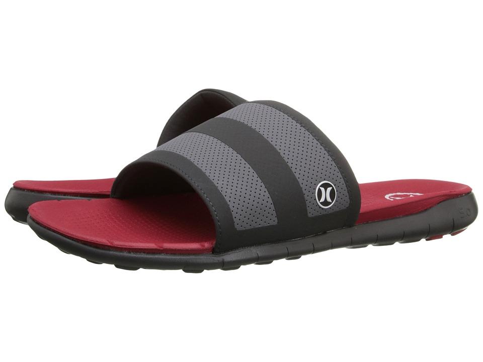 Hurley - Phantom Free Slide (Gym Red) Men's Sandals