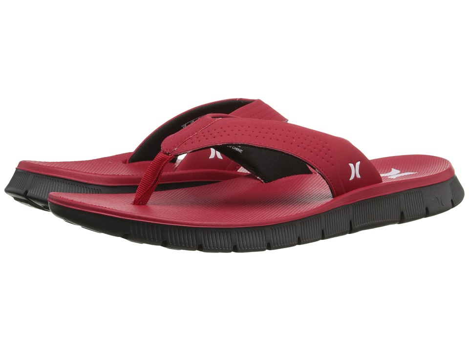 Hurley - Fusion Sandal (Gym Red) Men's Sandals