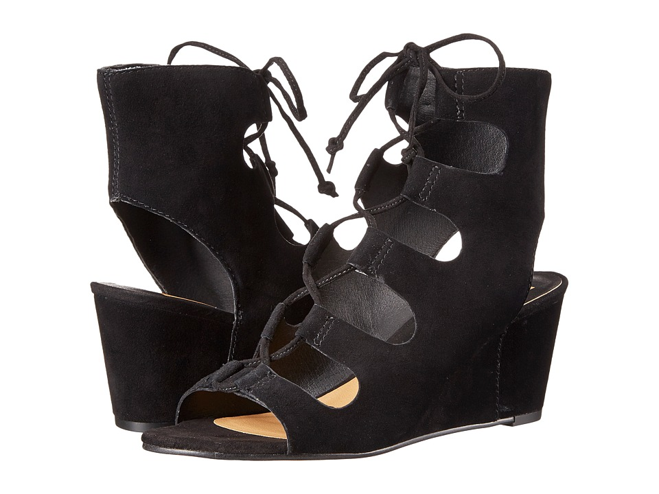 Dolce Vita - Louise (Black Suede) Women's Shoes