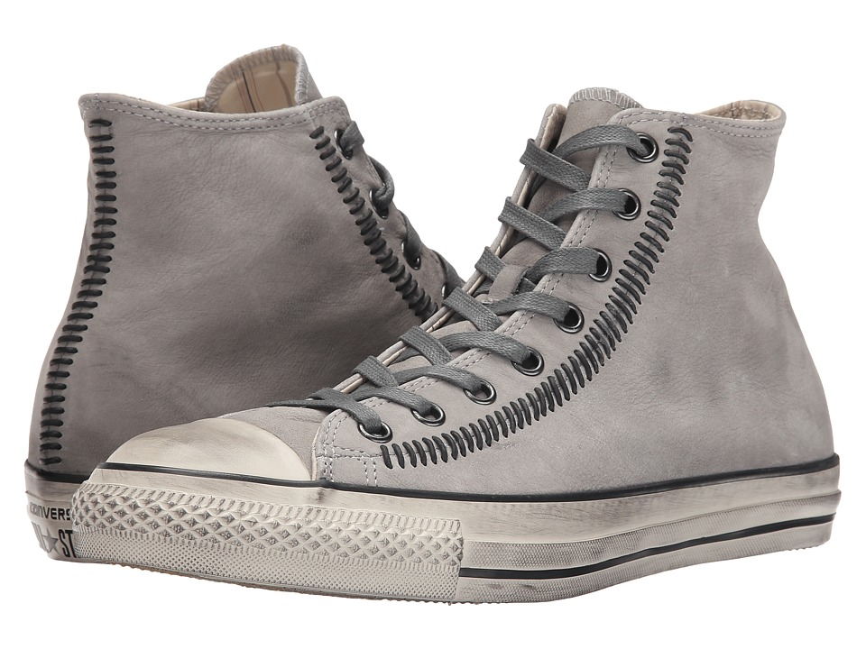 Converse by John Varvatos - Chuck Taylor All Star Hi - Artisan Stitch (Moonmist/Nickel/Turtledove) Lace up casual Shoes