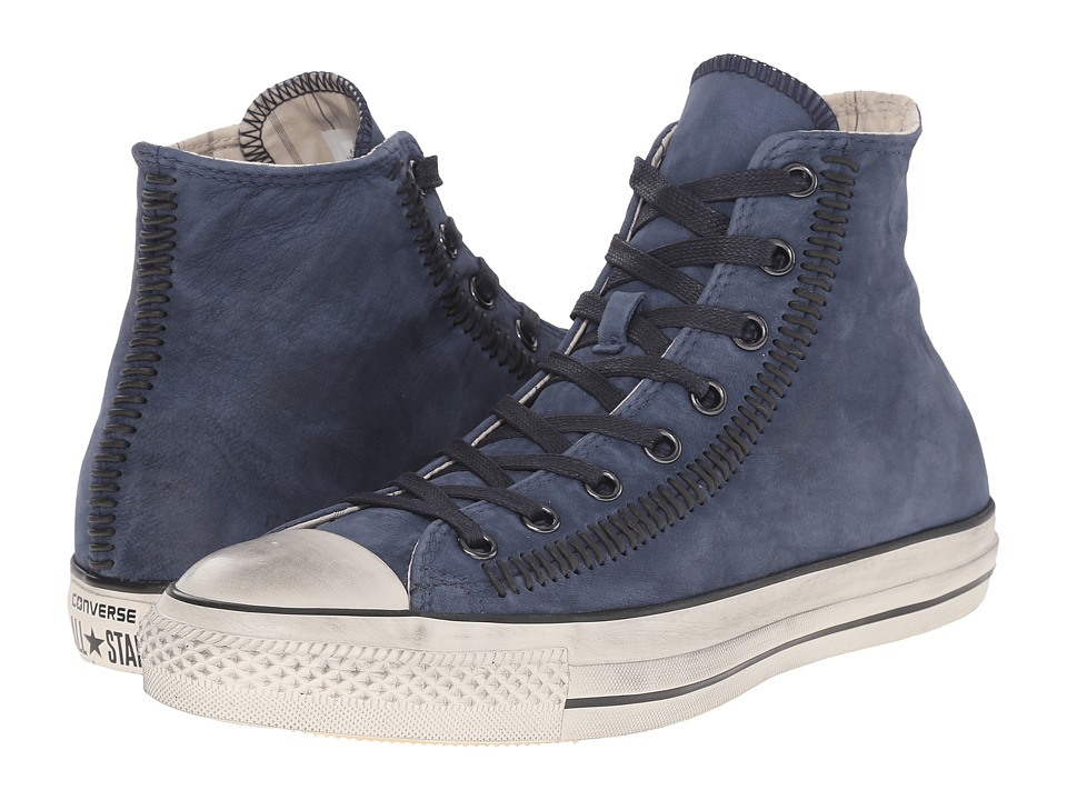 Converse by John Varvatos Chuck Taylor All Star Hi Artisan Stitch (Stream/Indigo/Turtledove) Lace up casual Shoes