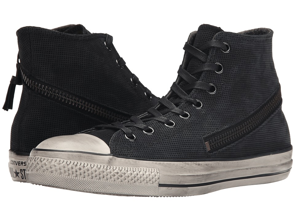 Converse by John Varvatos - Chuck Taylor All Star - Tornado Zip (Black/Beluga/Turtledove) Lace up casual Shoes