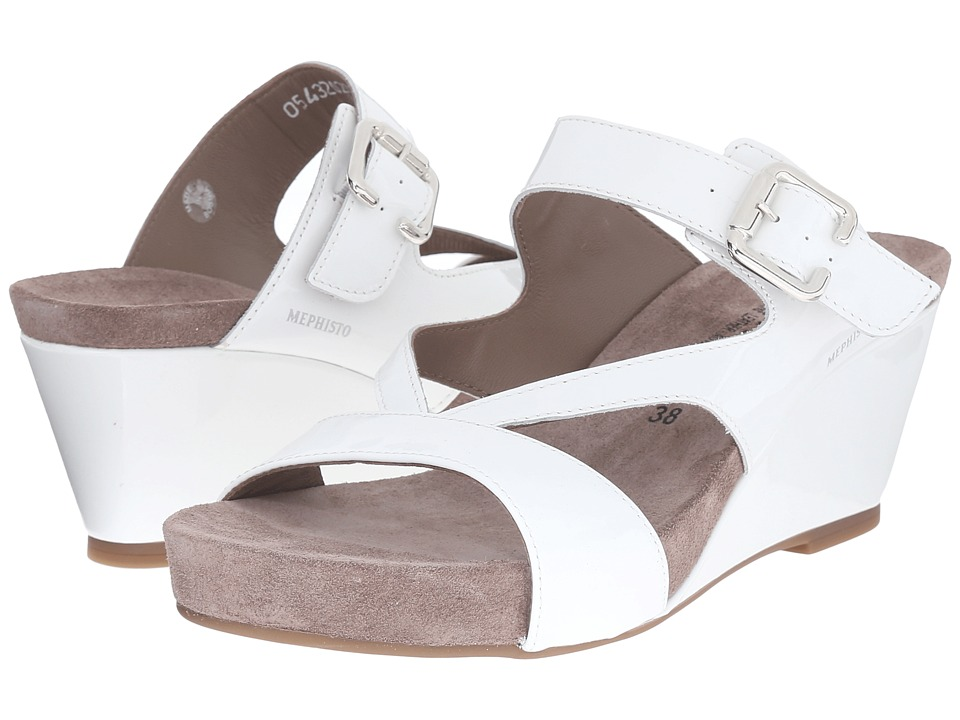 Mephisto Beatrix (White Patent) Women