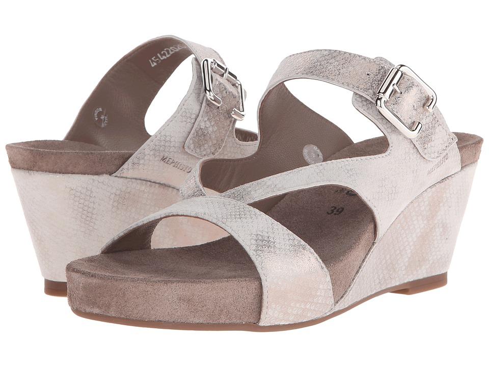 Mephisto - Beatrix (Light Sand Savana) Women's Sandals