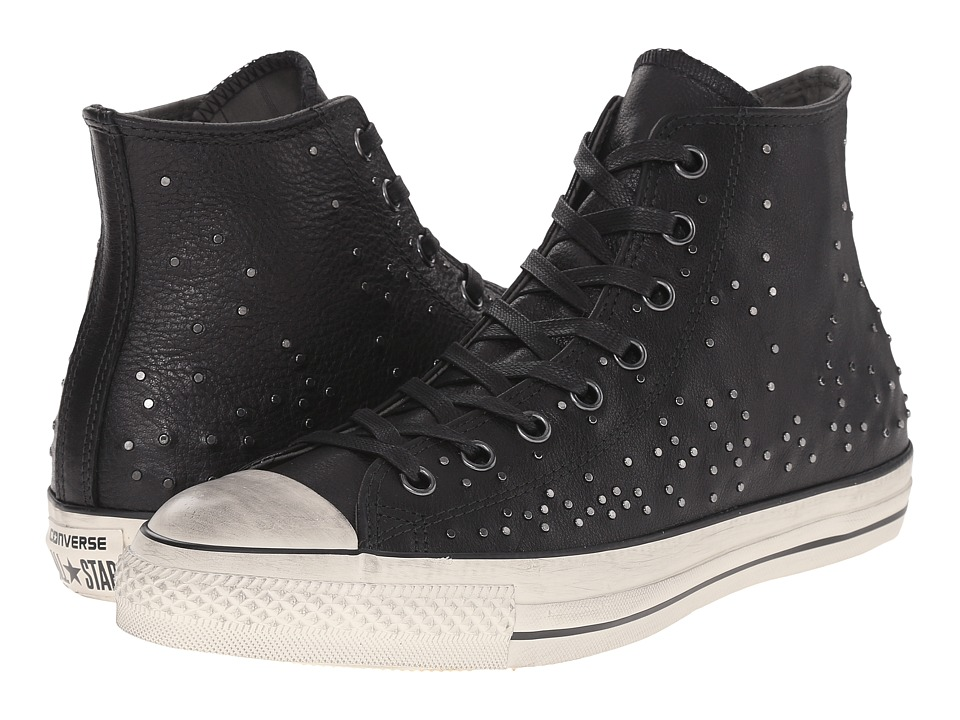 Converse by John Varvatos - Chuck Taylor All Star - Mini Stud (Black/Beluga/Turtledove) Lace up casual Shoes
