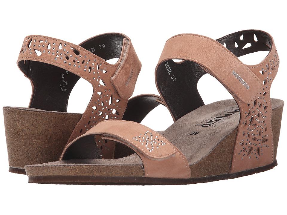 Mephisto - Marie Spark (Old Pink Velcalf Premium) Women's Sandals
