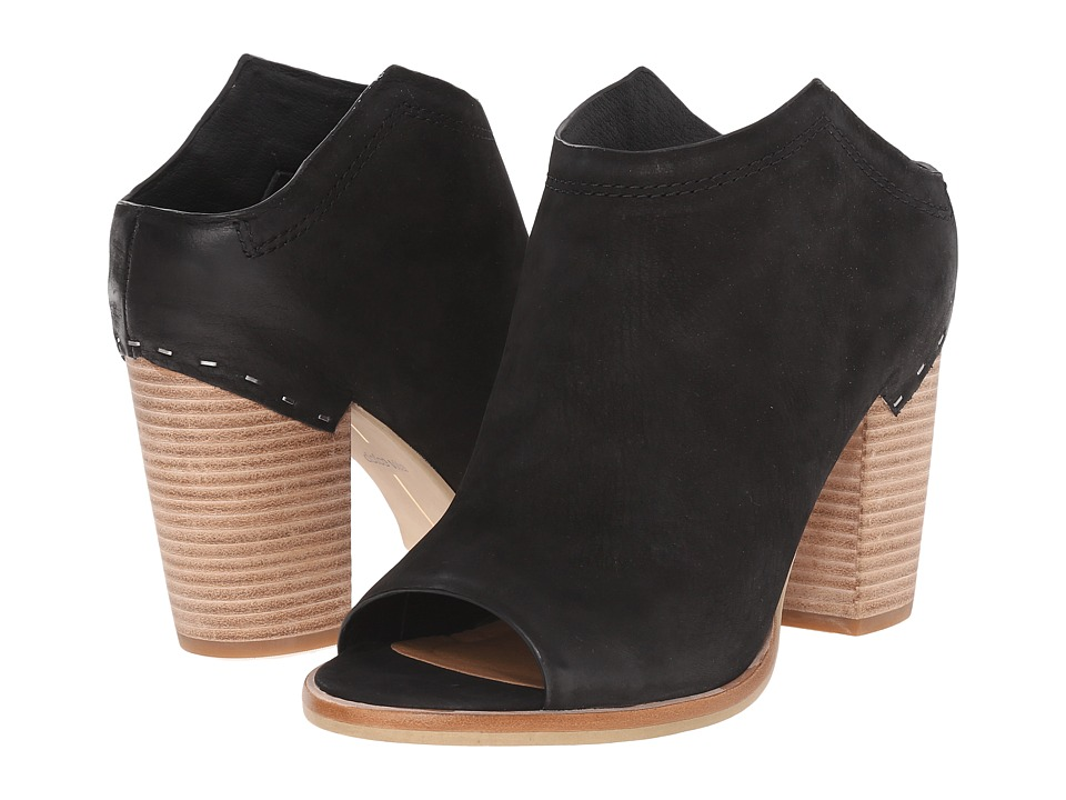 Dolce Vita - Noa (Black Nubuck) Women's Shoes