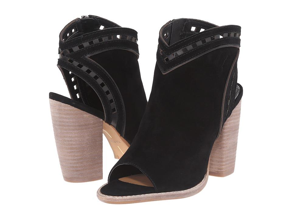 Dolce Vita - Natasha (Black Suede) Women's Shoes