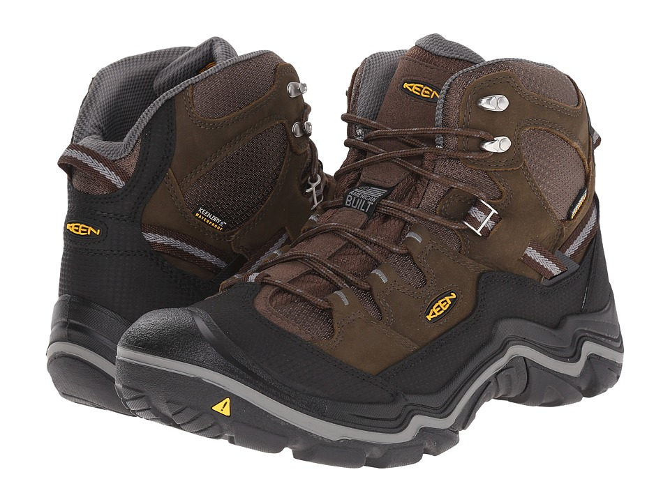 Keen Utility - Monmouth Mid Soft Toe (Cascade Brown/Gargoyle) Men's Work Boots