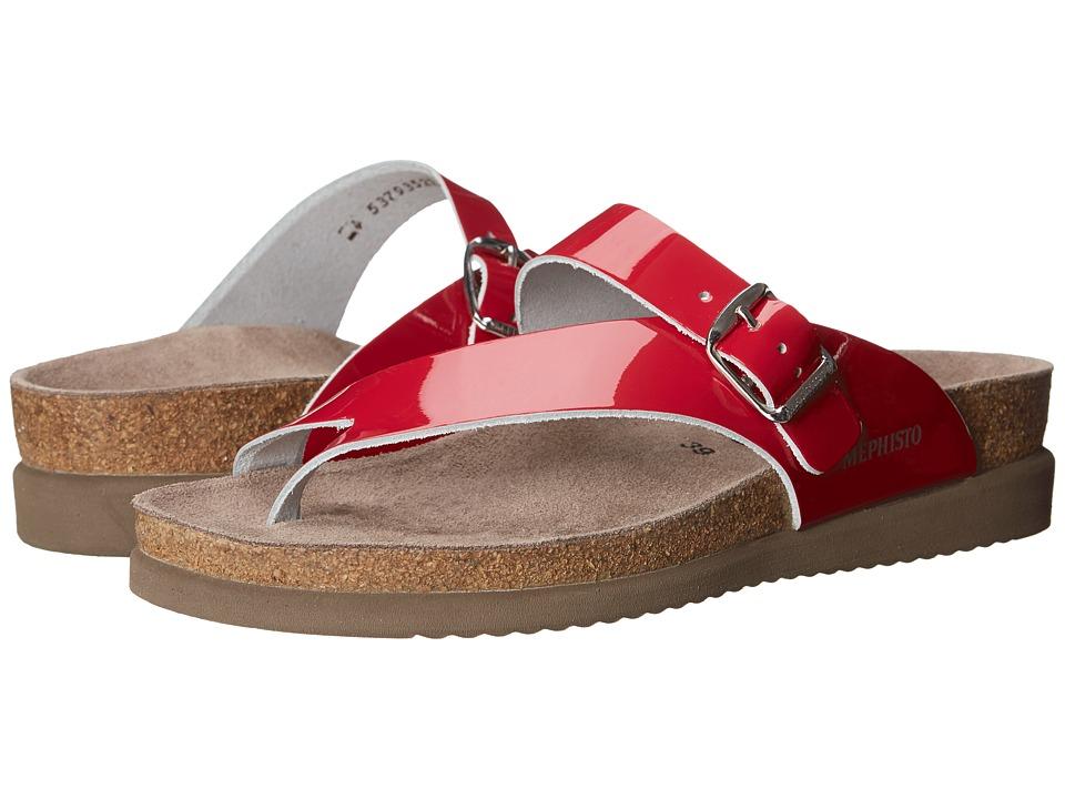 Mephisto - Helen (Cranberry Patent) Women's Sandals