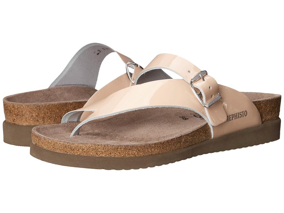Mephisto - Helen (Nude Patent) Women's Sandals
