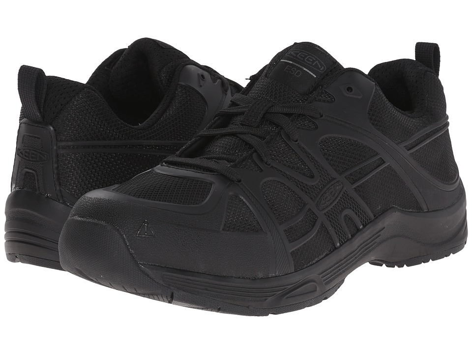 Keen Utility - Durham ESD Soft Toe (Black) Men's Industrial Shoes