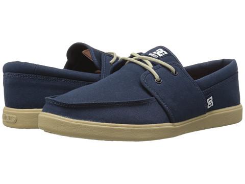 DC - Hampton (Navy/Gum) Men's Skate Shoes