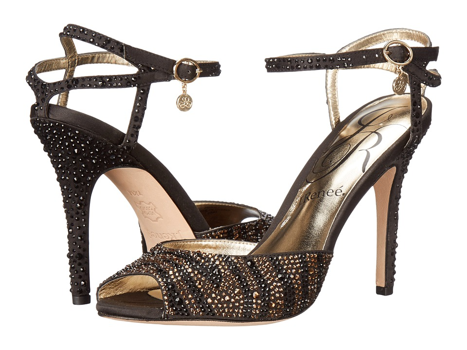 J. Renee Jordy (Black/Brown Tiger) High Heels