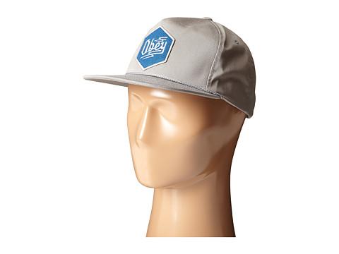 Obey - Zig Snapback (Grey) Caps