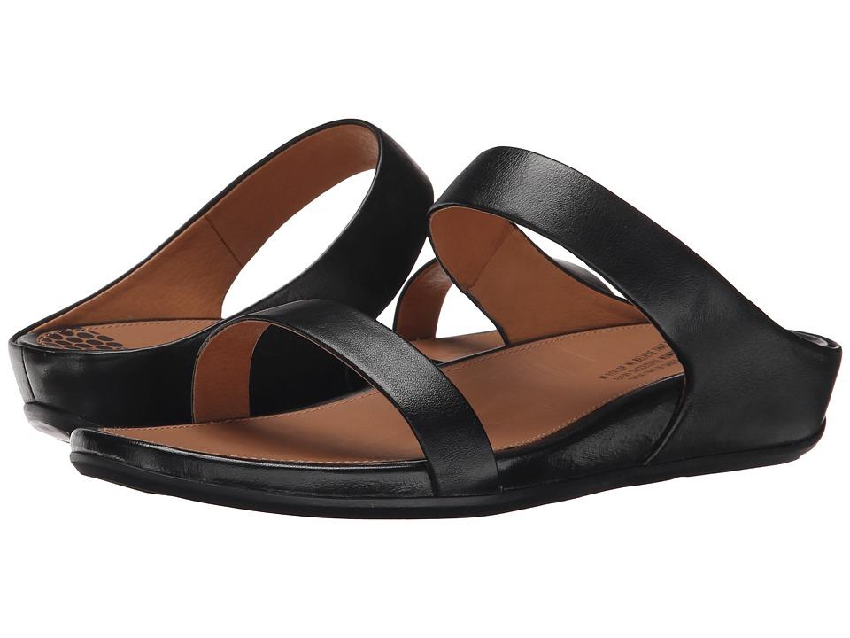 FitFlop - Banda Slide (Black) Women's Slide Shoes