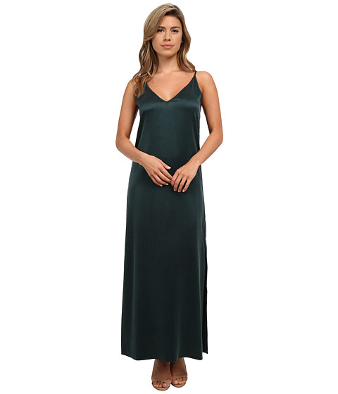 EQUIPMENT - Racquel Slip Dress (Scarab) Women's Dress