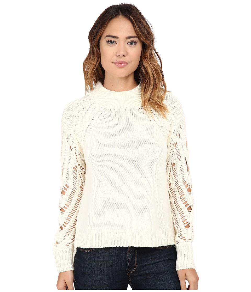 French Connection - Kora Knits Sweater (Winter White) Women