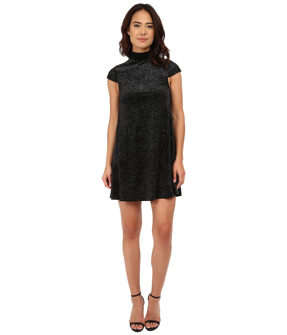 French Connection - Galaxy Stars Dress (Black) Women's Dress