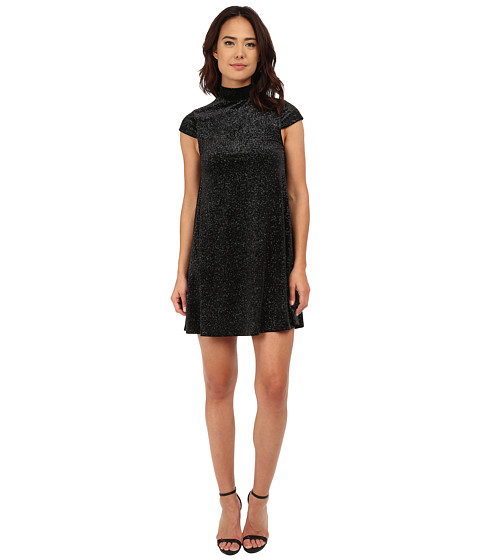 French Connection - Galaxy Stars Dress (Black) Women