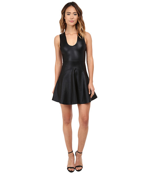 French Connection - Twilight Shine Dress (Black) Women