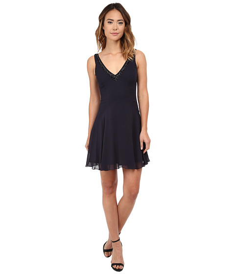 French Connection - Broadway Nights Dress (Utility Blue) Women
