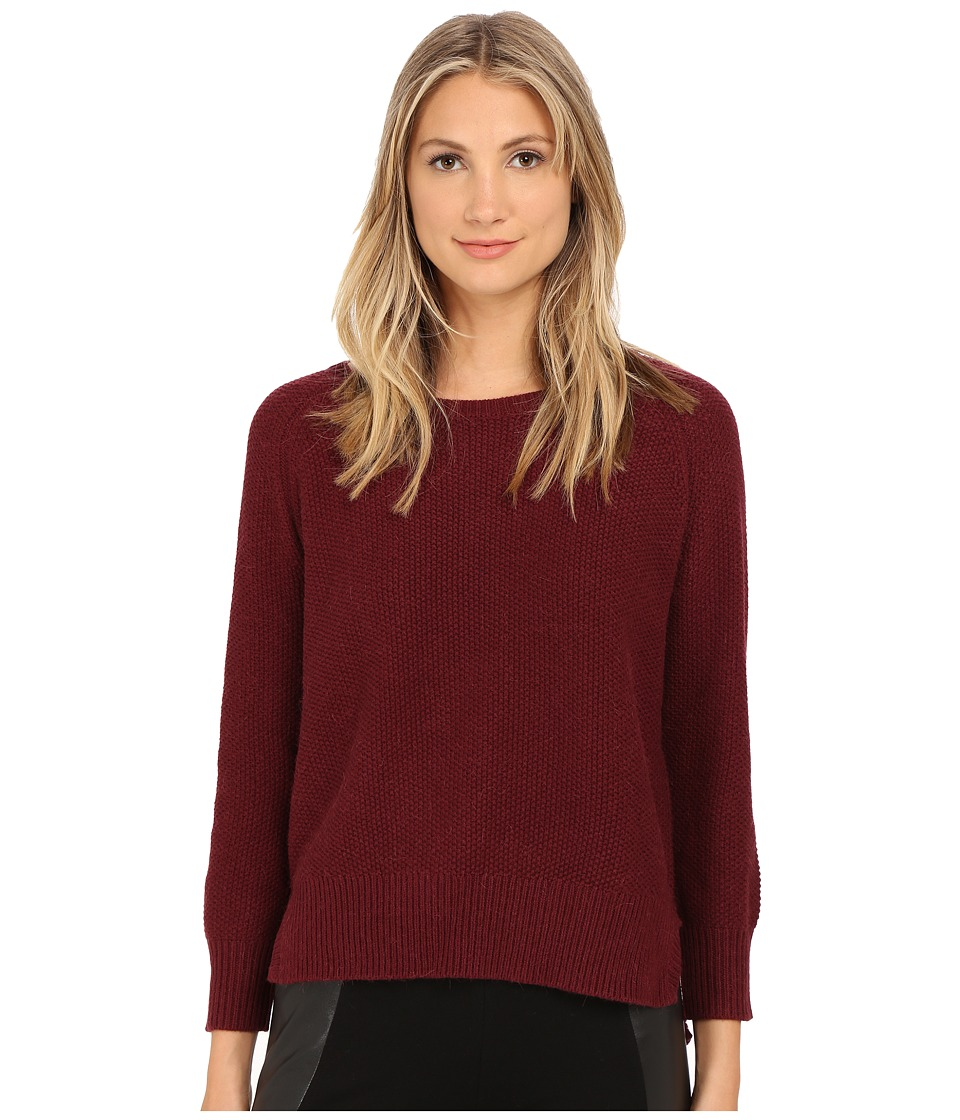 French Connection - Candy Knits Sweater 78EBR (Biker Berry) Women