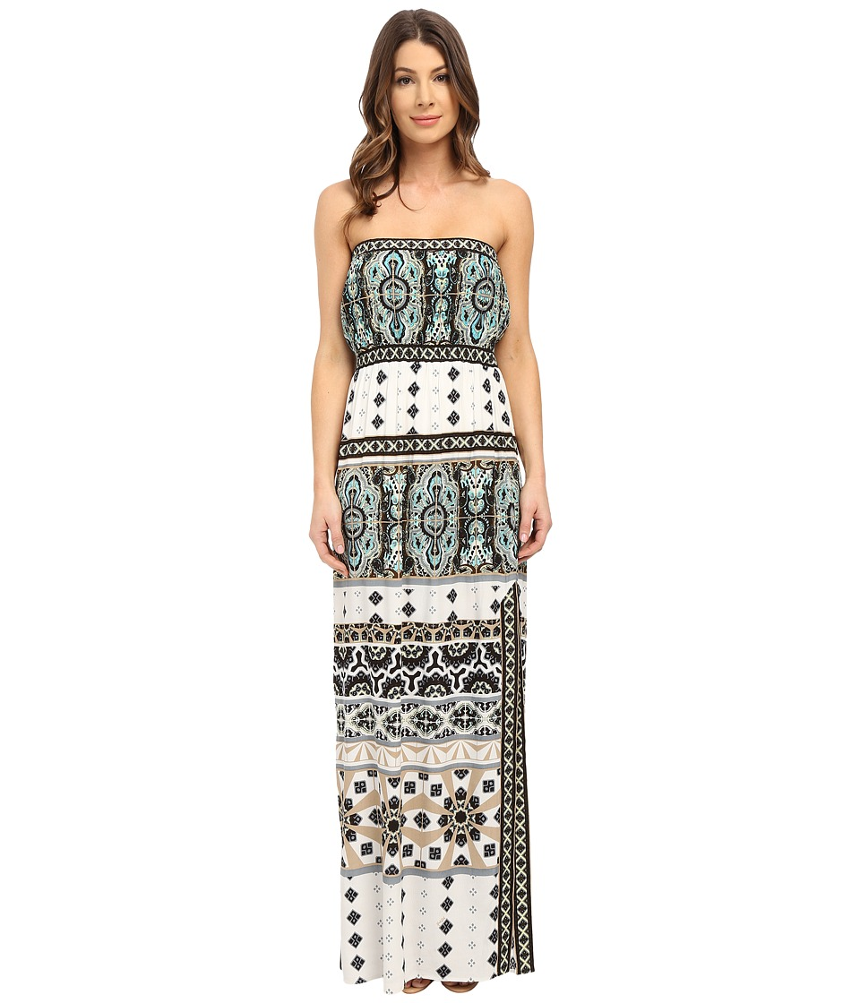 Hale Bob - Strapless Maxi Dress (Ivory) Women's Dress