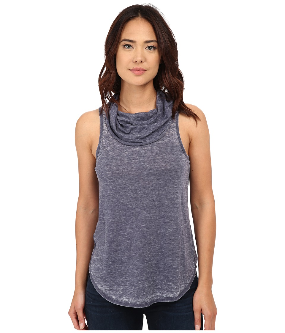 Chaser - Open Back Cowl Neck Tank Top (Avalon) Women's Sleeveless