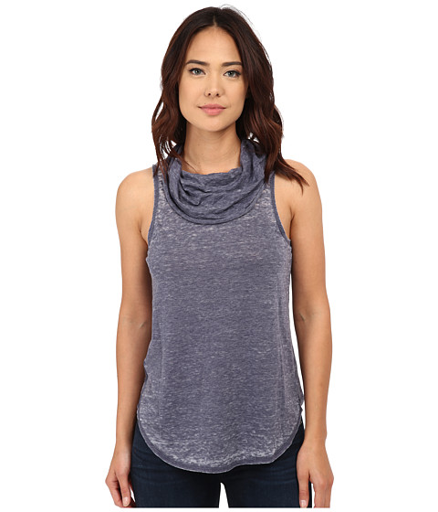 Chaser - Open Back Cowl Neck Tank Top (Avalon) Women