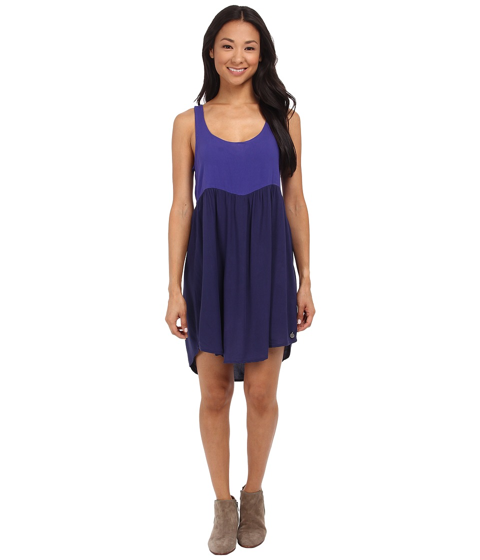 Roxy - Double Dip Dress (Juniors) (Patriot Blue) Women's Dress