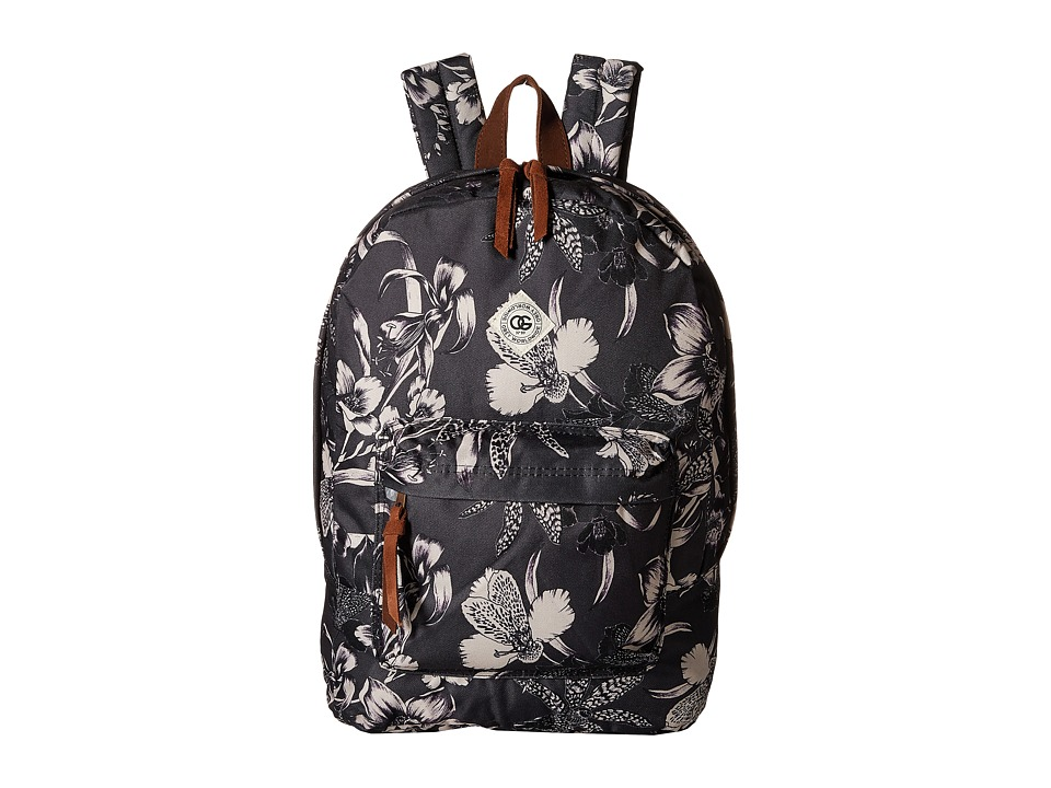 Obey - Dark Orchid Backpack (Black Multi) Backpack Bags