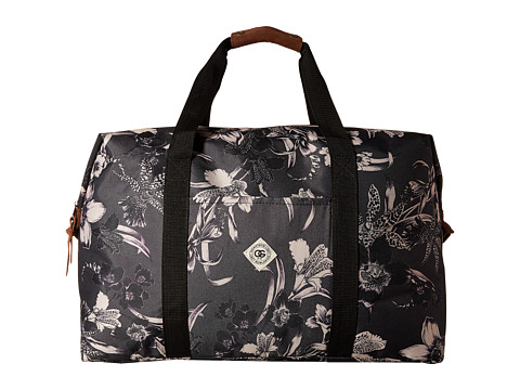 Obey - Dark Orchid Weekender (Black Multi) Weekender/Overnight Luggage