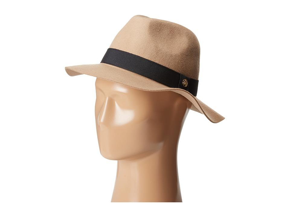 Obey - Sienna Fedora Hat (Camel) Fedora Hats