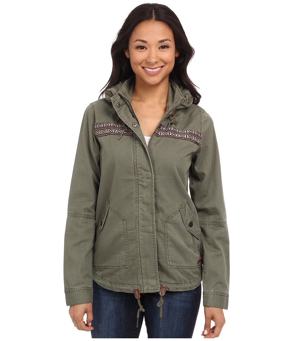 Roxy - Wintercloud Jacket (Dusty Olive) Women's Coat