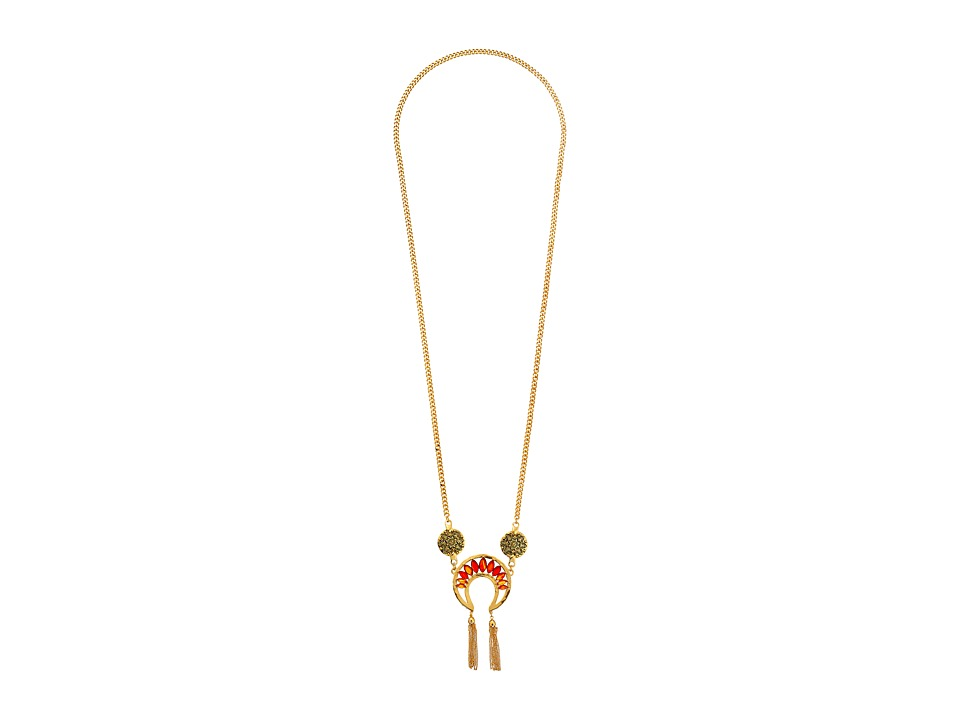 Obey - Savant Necklace (Antique Gold) Necklace