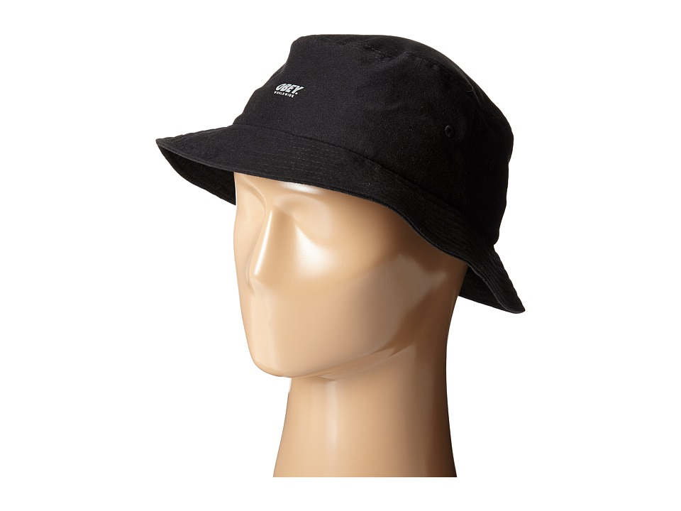 Obey - Comstock Bucket Hat (Black) Bucket Caps