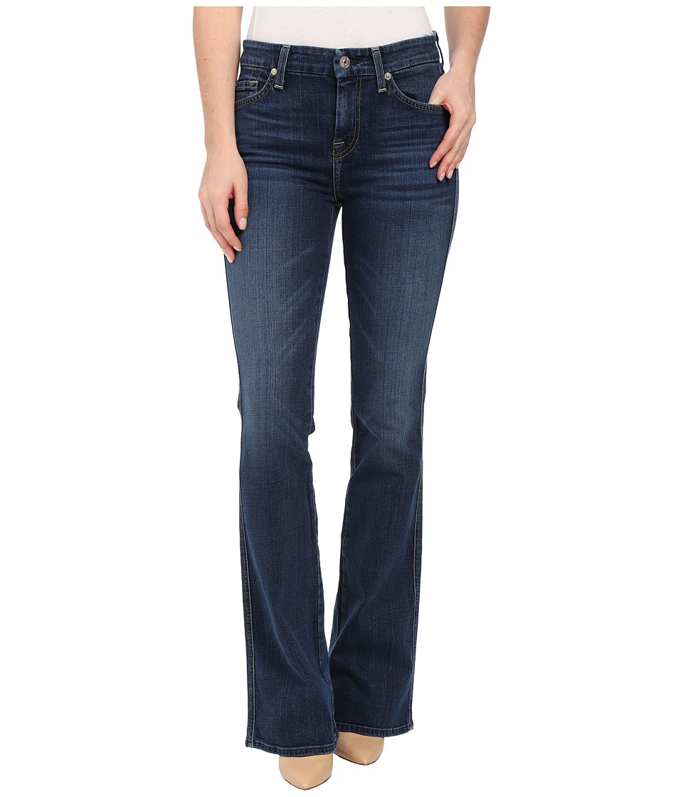 7 For All Mankind - A Pocket w/ Seamed A in La Palma Blue (La Palma Blue) Women
